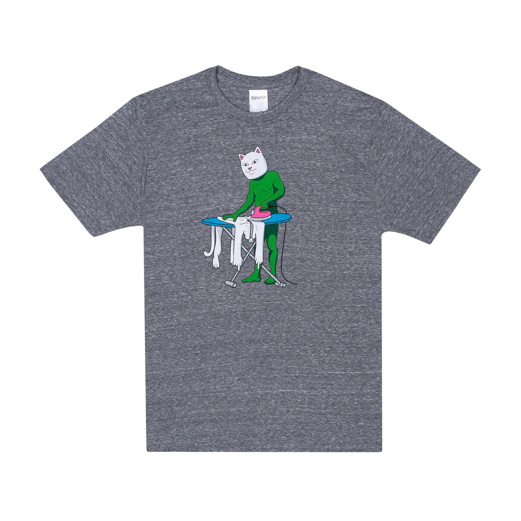 Laundry Day Tee (Heather Gray)