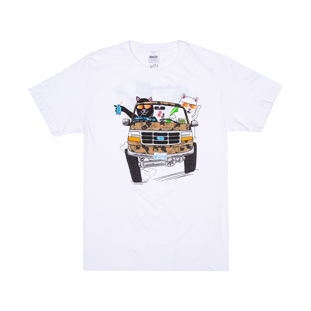 The Whole Gang Tee (White)