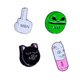 Daily Dose Pin (Set Of 4)