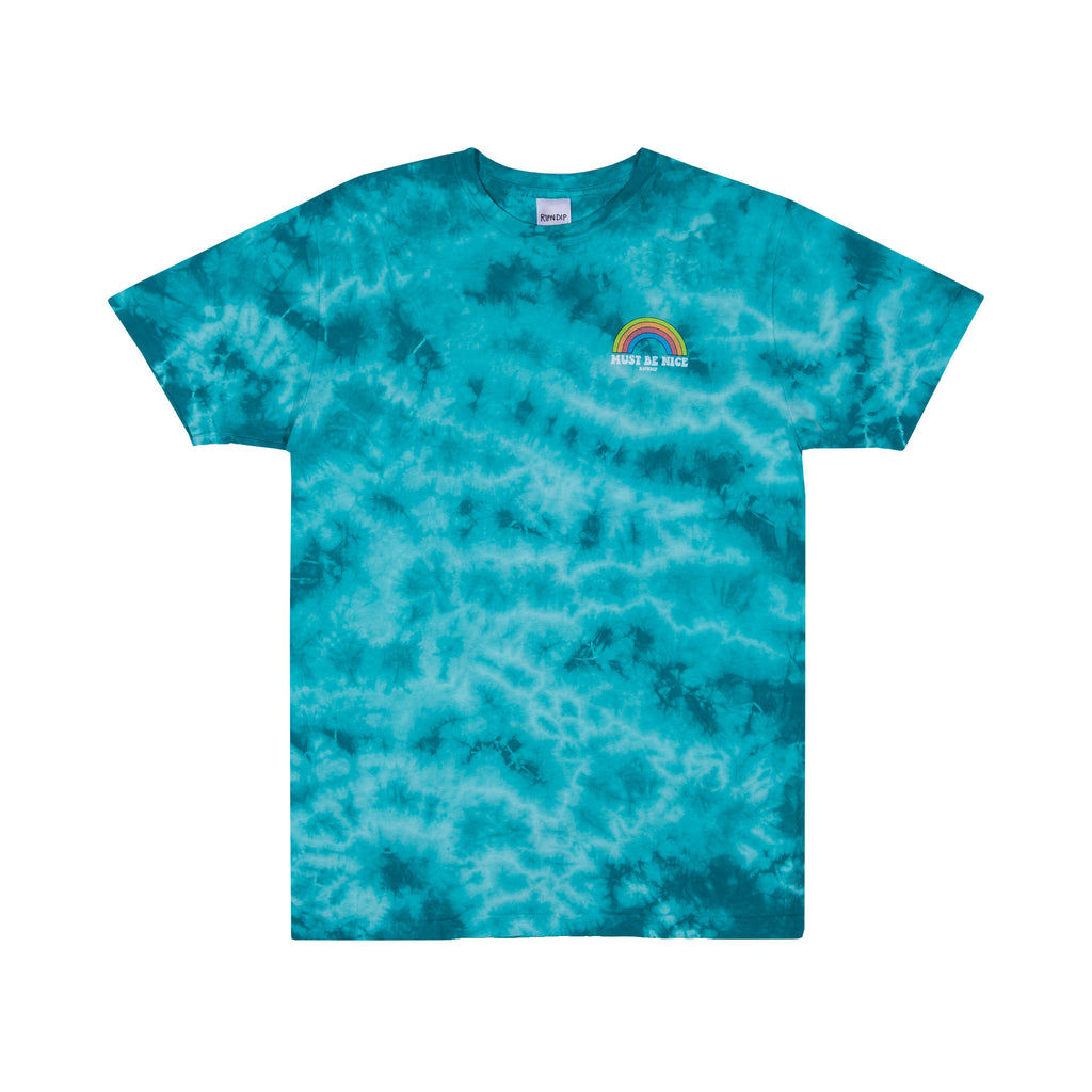 My Little Nerm Tee (Blue Tie Dye)