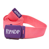 RIPNDIP Web Belt (Watermelon)