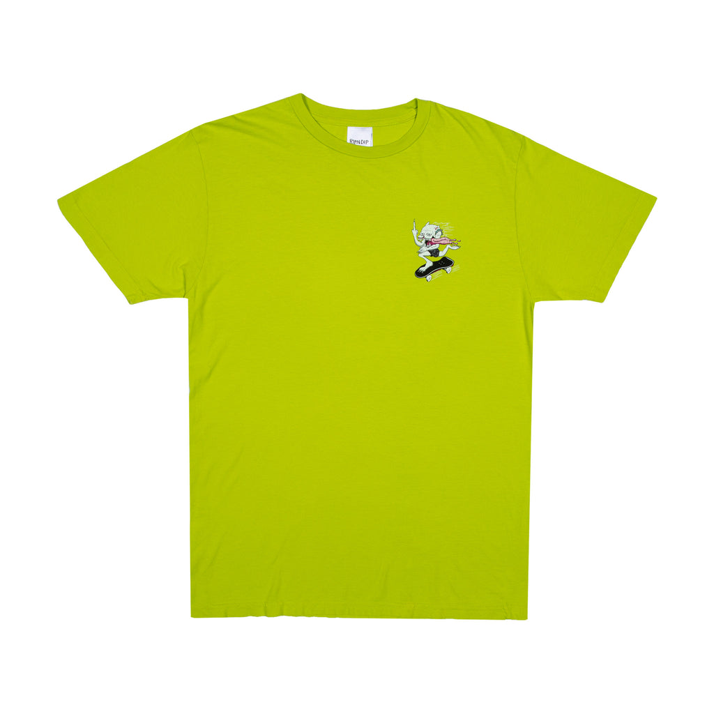 Skate Nerm Tee (Safety Green)