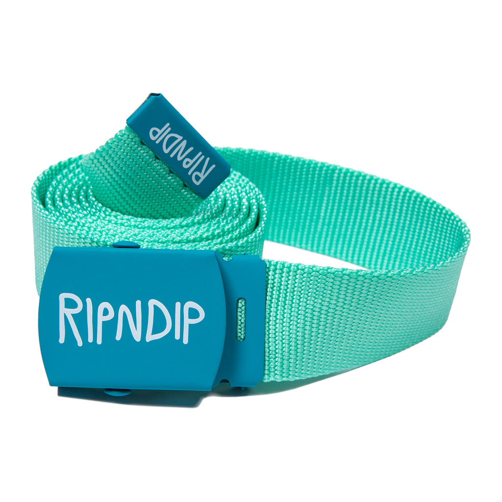 RIPNDIP Web Belt (Mint)