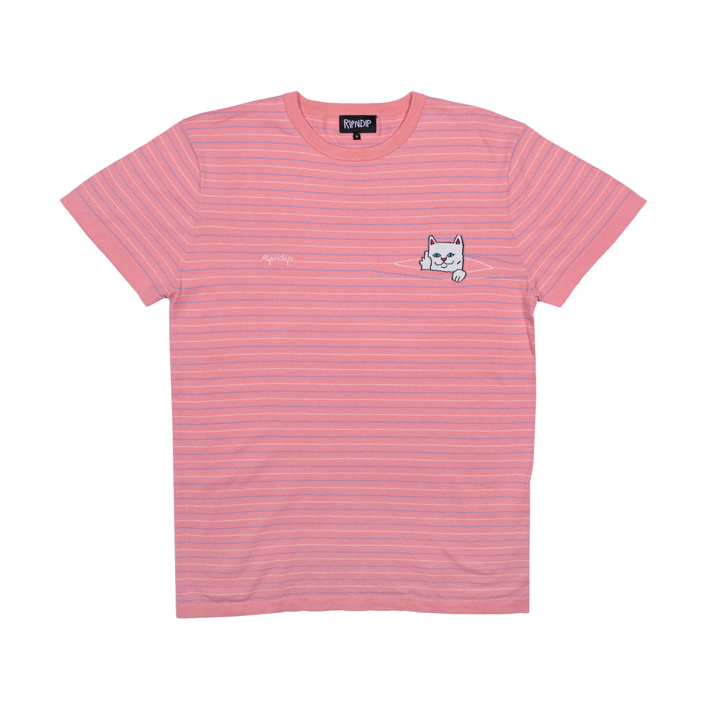 Peek A Nermal Knit Tee (Pink)