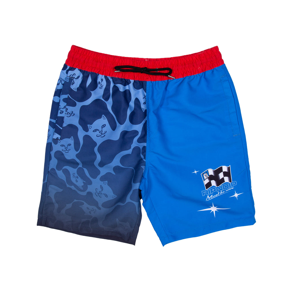 Nascar Nerm Swim Shorts (Blue)
