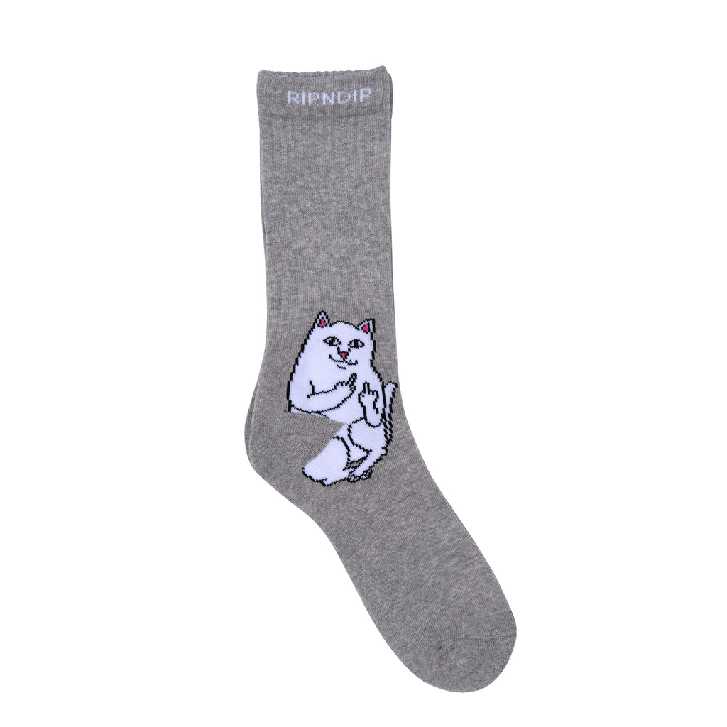 Lord Nermal Socks (Heather Gray)