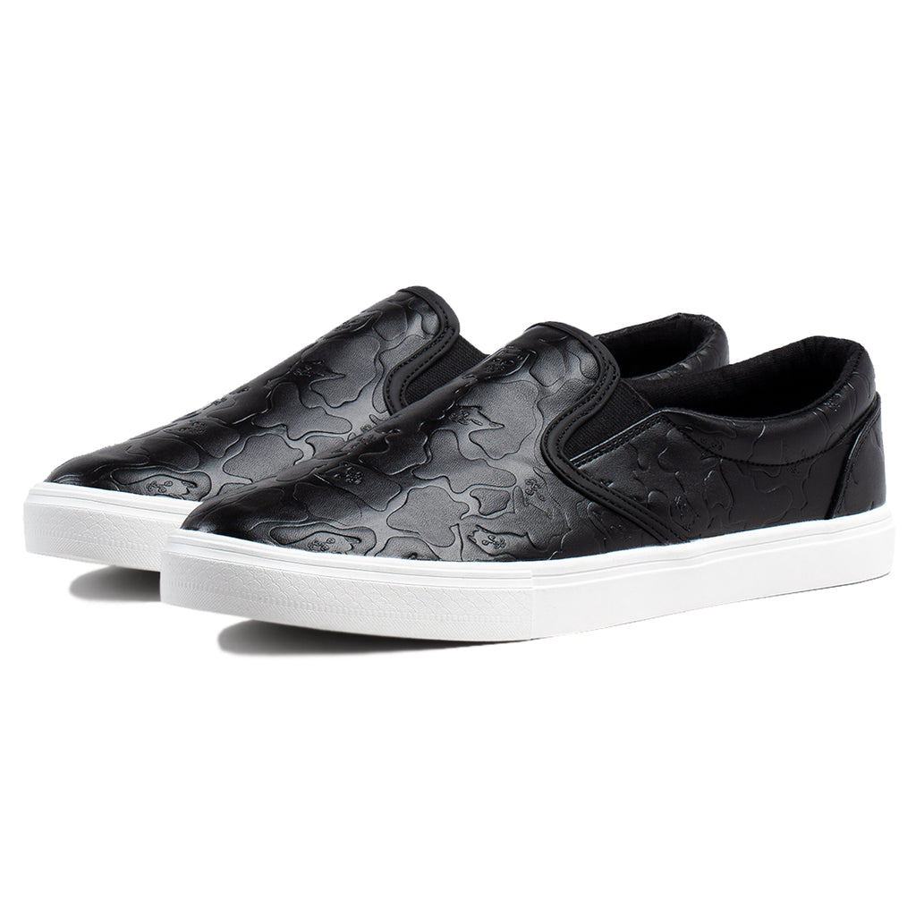 Blackout Camo Slip Ons