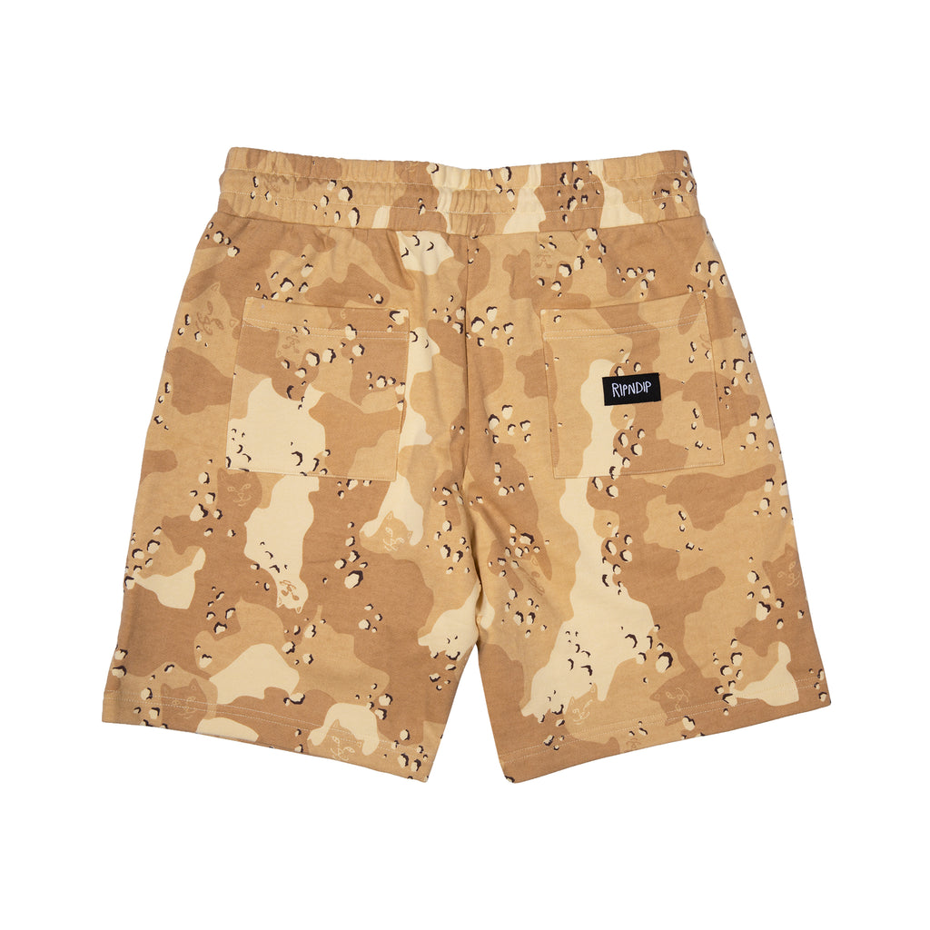 Nerm Camo Sweat Shorts (Choc Chip Camo)