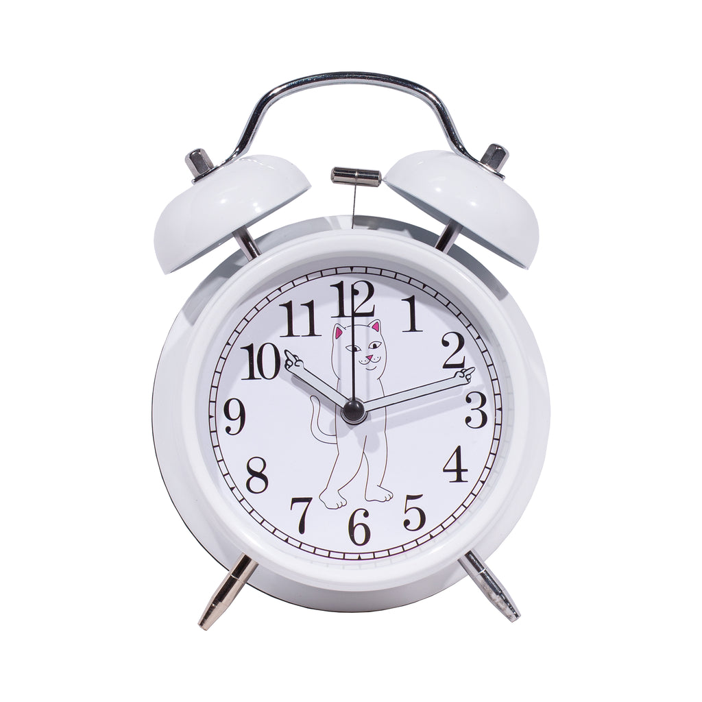Fucking Late Alarm Clock (White)