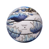 Great Wave Basketball (Blue)
