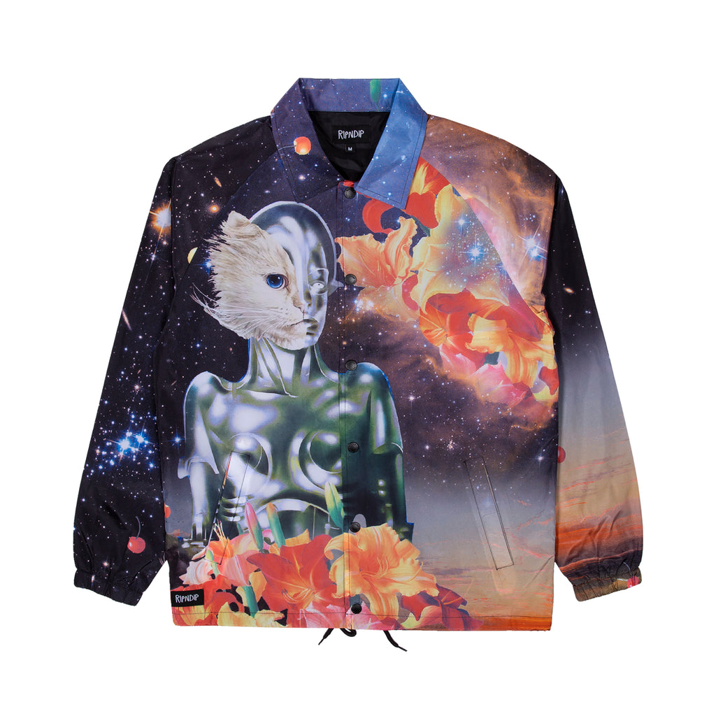 526d2f5ada Galactica Coaches Jacket (Black) – RIPNDIP