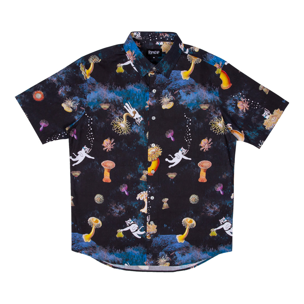 Scuba Nerm Button Up (Black)