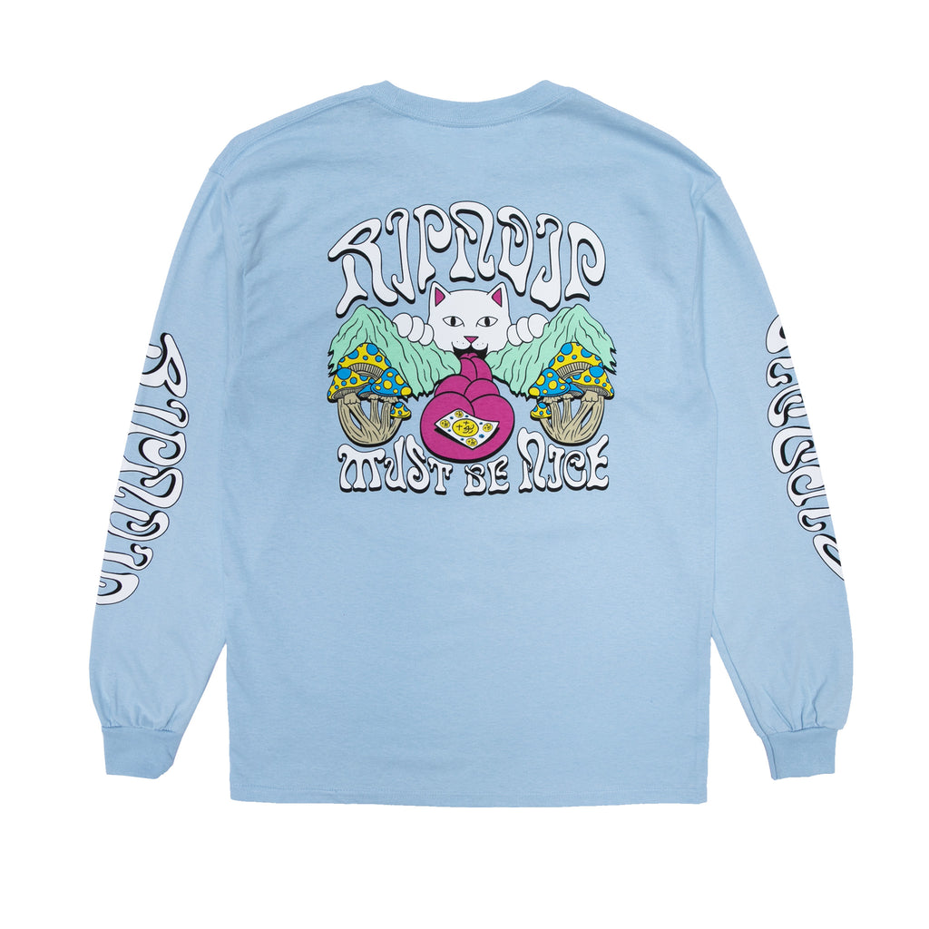One More Tab L/S (Light Blue)