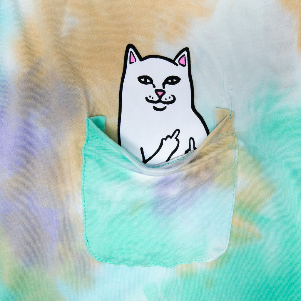 Lord Nermal Pocket Tee (Green Purple Dye)