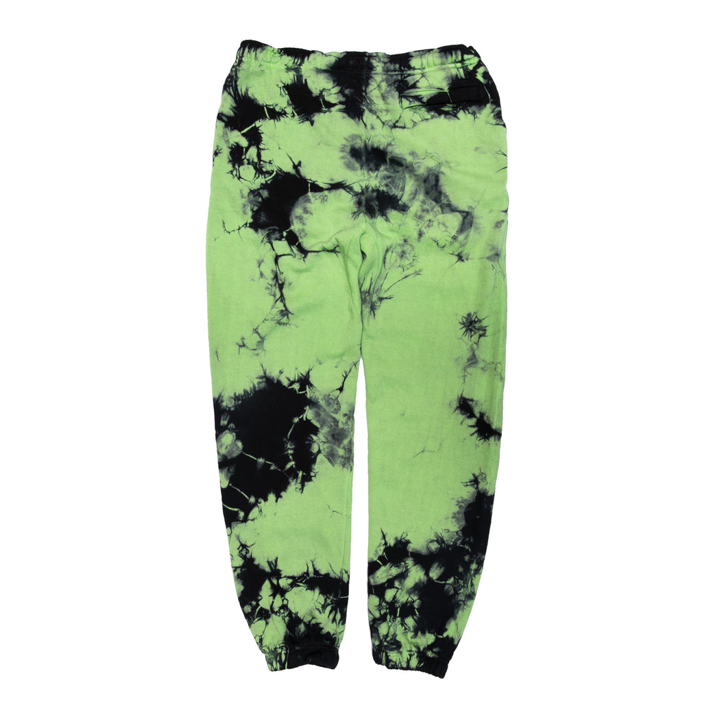 Nermio Sweat Pants (Black / Green Lightning Wash)