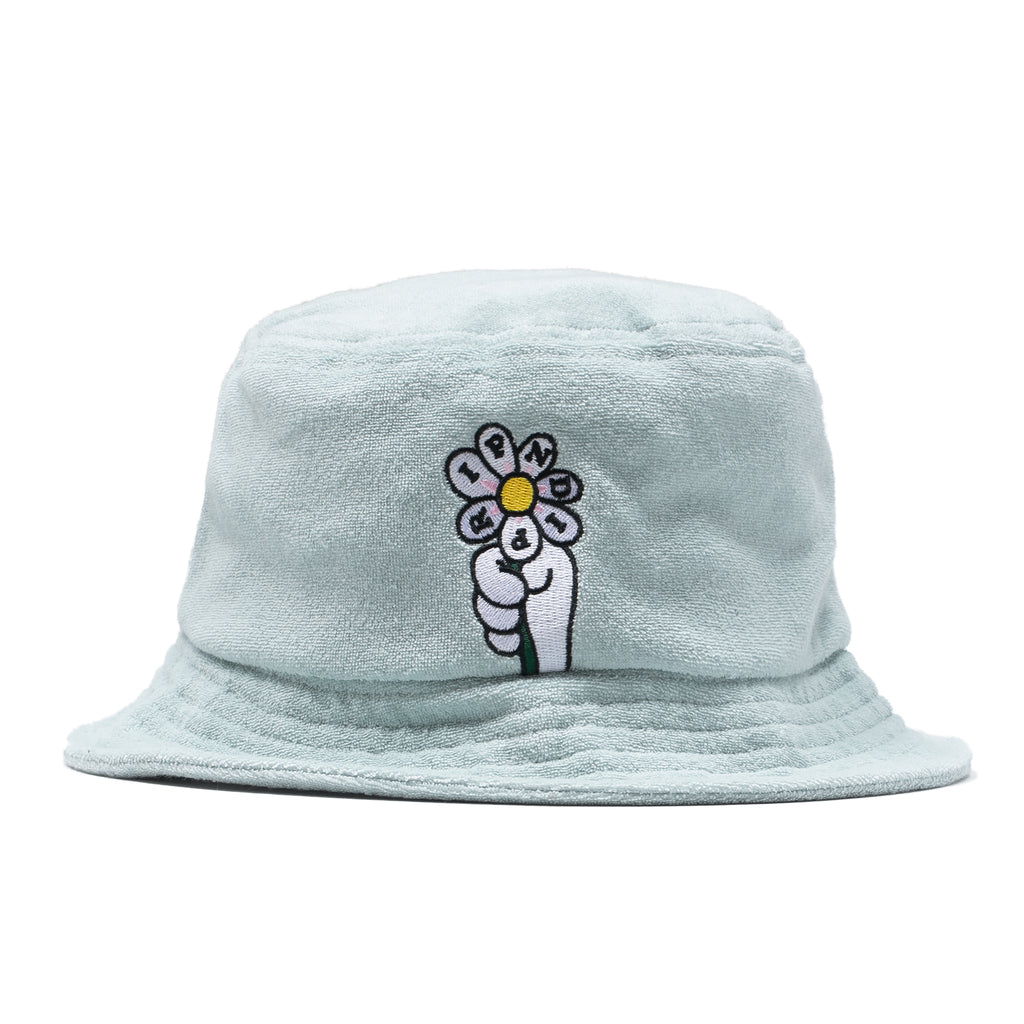 She Loves Me Not Sherpa Bucket (Mint)