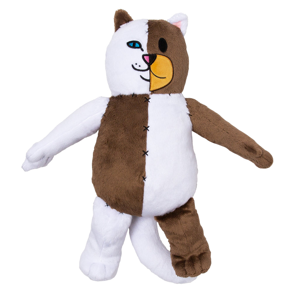 Ripndip Teddy Fresh Stitched Together Plush Doll by Ripndip