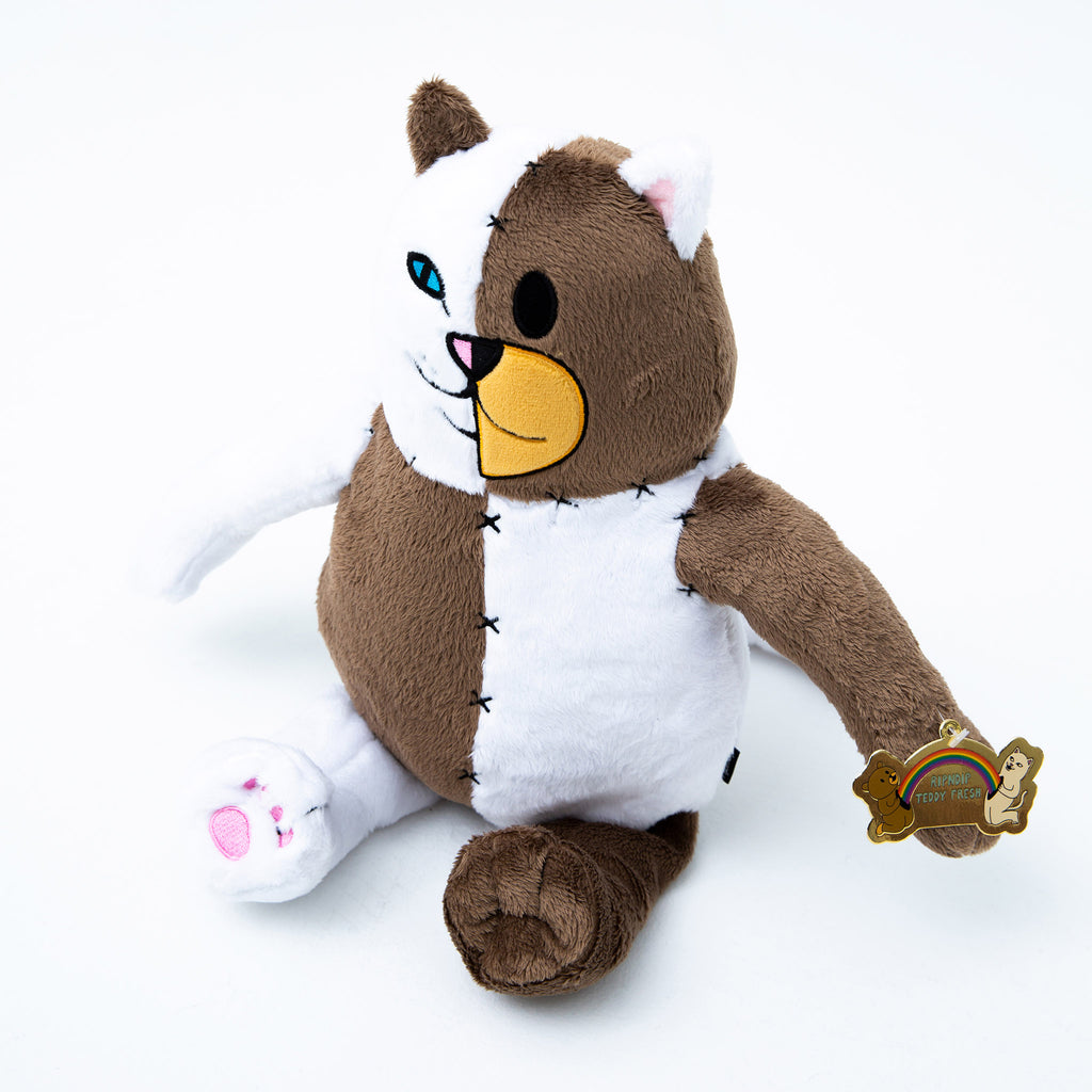 Ripndip Teddy Fresh Stitched Together Plush Doll