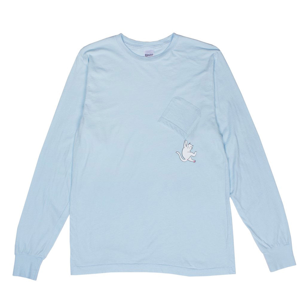 Hang In There L/S (Baby Blue)