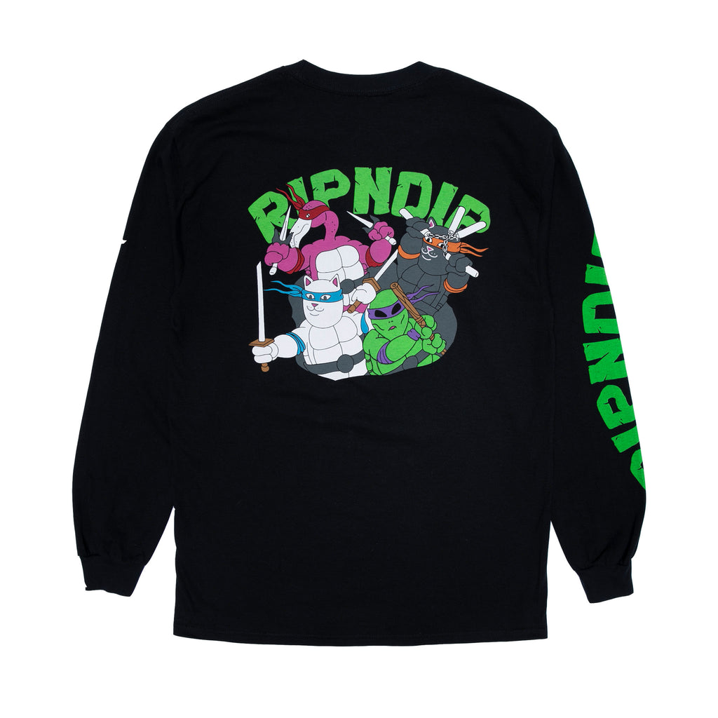 Teenage Mutant Long Sleeve (Black)