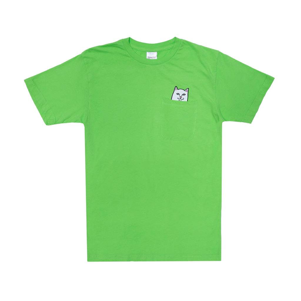 Lord Nermal S/S Pocket Tee (Lime)