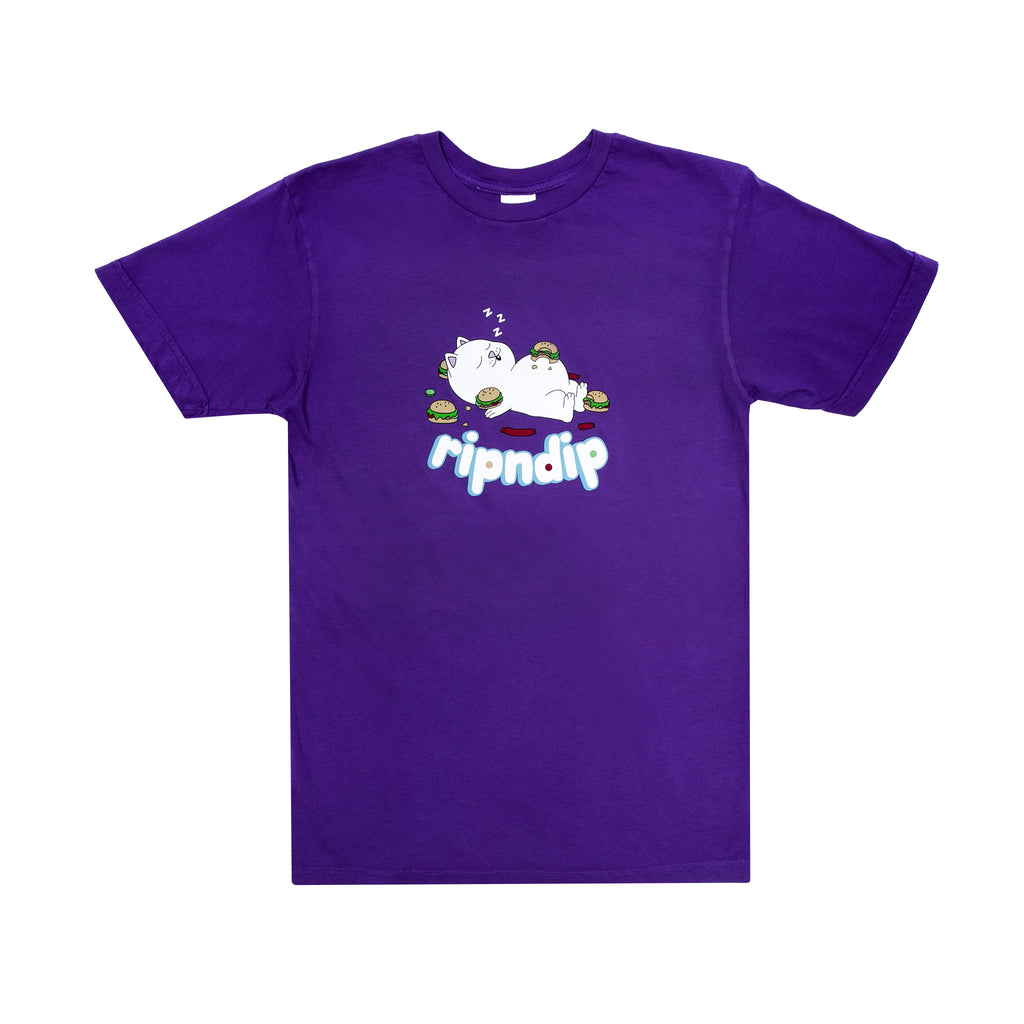 Fat Hungry Baby Tee (Purple)