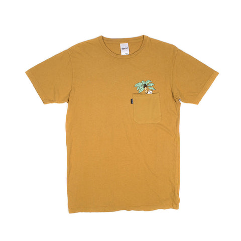 Safari Nermal Tee (Mustard)