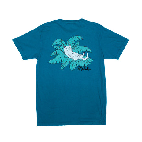 Safari Nermal Tee (Blue)