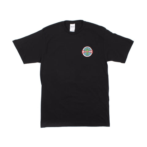 Grid Globe Basic Tee (Black)