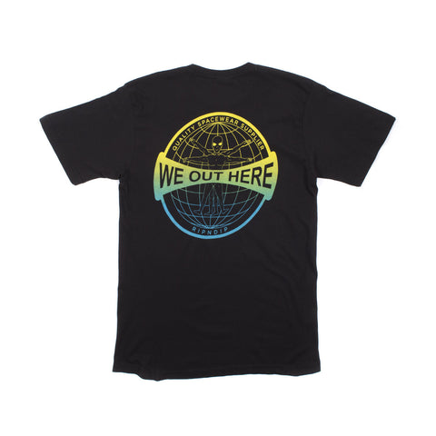 We Out Here Gridglobe Shirt (Black)