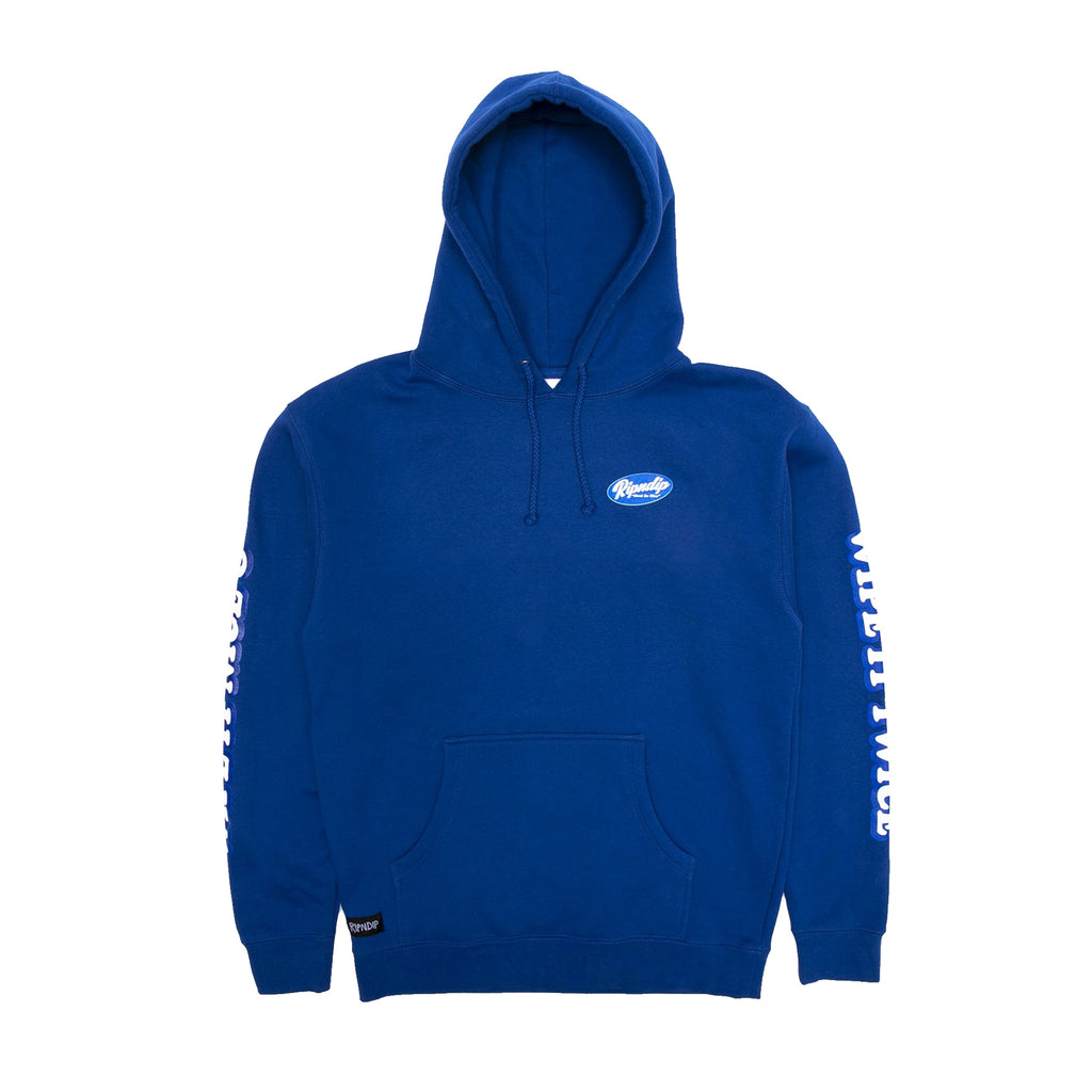 Wipe It Twice Hoodie (Blue)