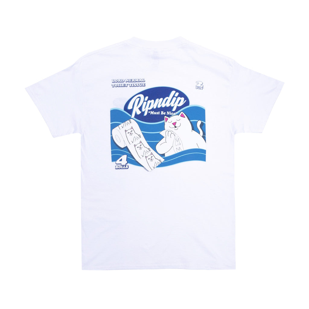 Wipe It Twice Tee (White)
