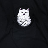Lord Nermal Toilet Paper Pocket Tee (Black)