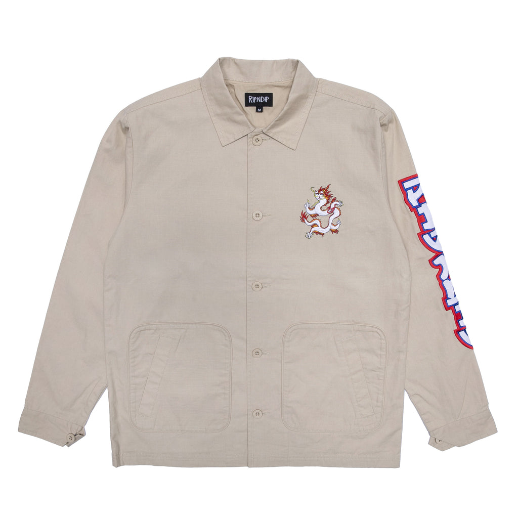 Dragonerm Ripstop Work Jacket (Khaki)