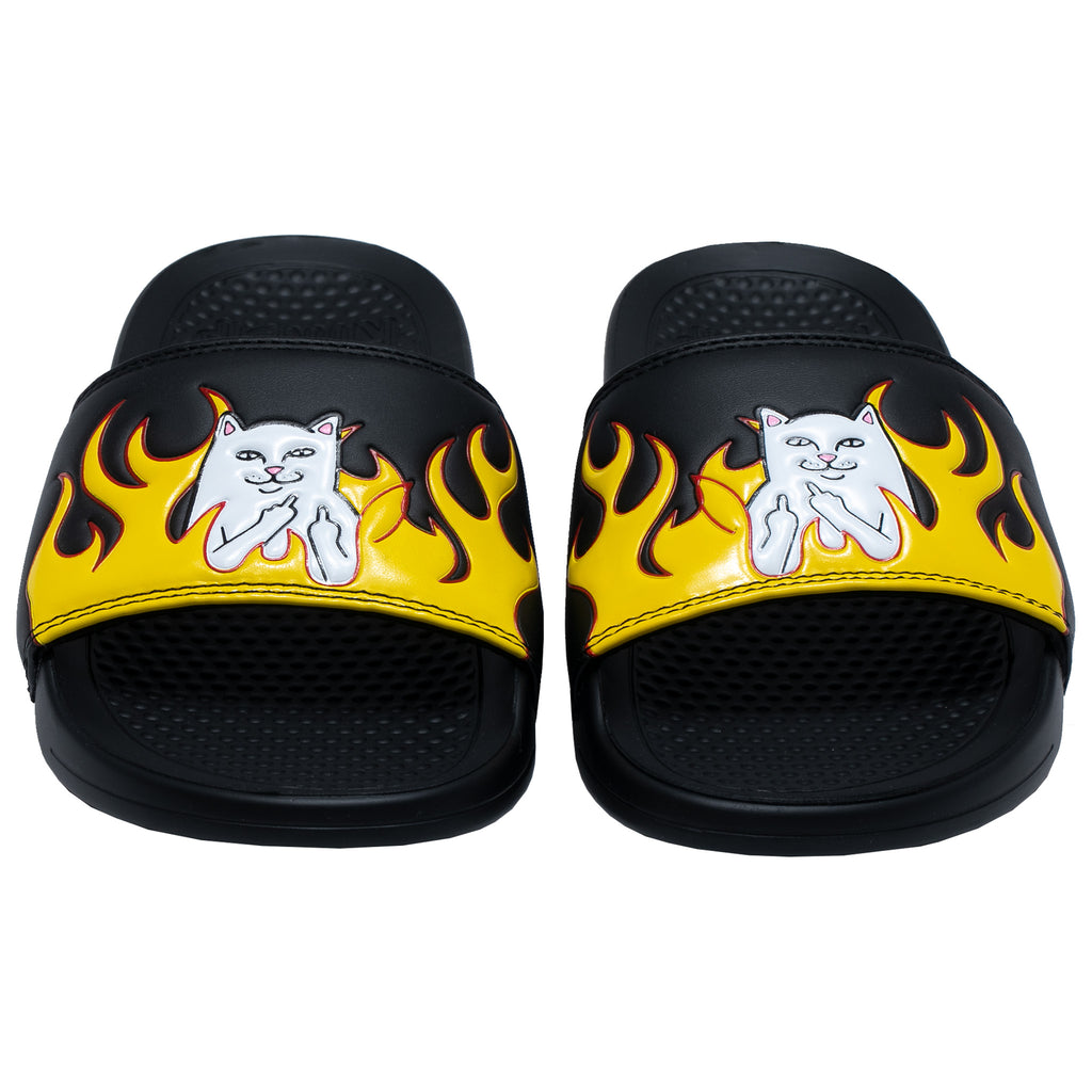 Welcome To Heck Slides (Black Flame)