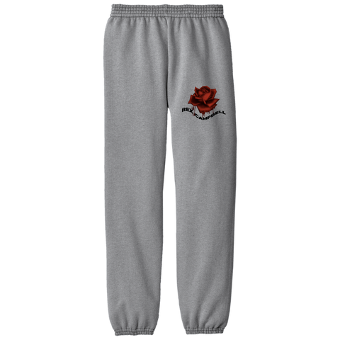 Rex Campbell Rose Drippin Grey Sweats