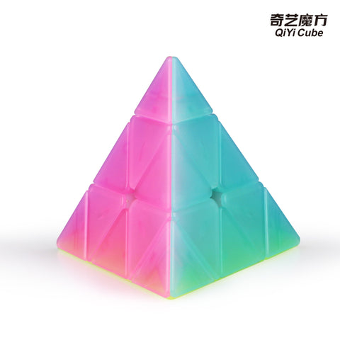 Qiming Pyraminx Jelly Edition