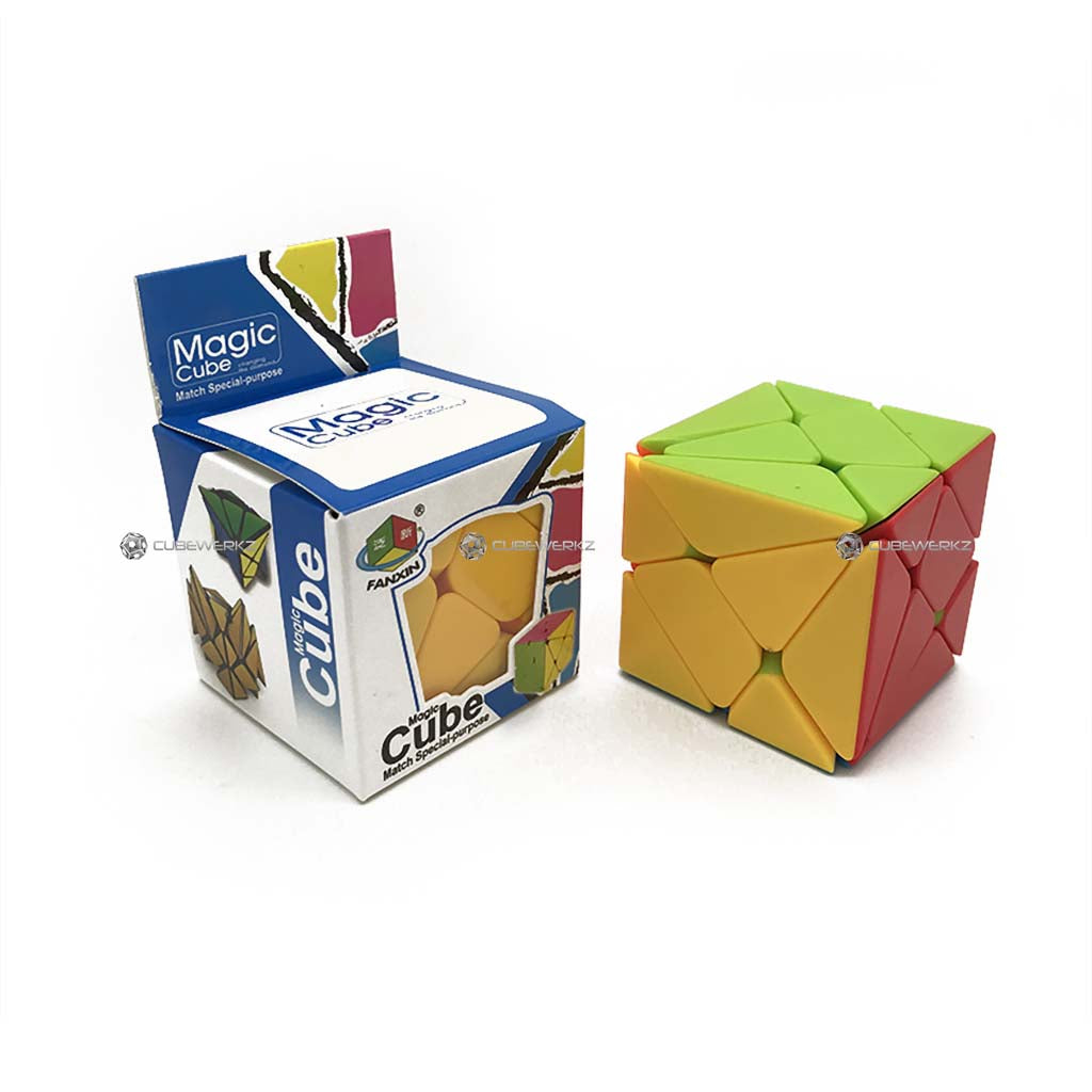 FanXin Axis 3x3 Stickerless - Cubewerkz Puzzle Store