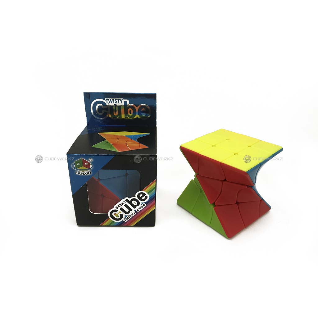 Fanxin Twisted Cube Stickerless - Cubewerkz Puzzle Store