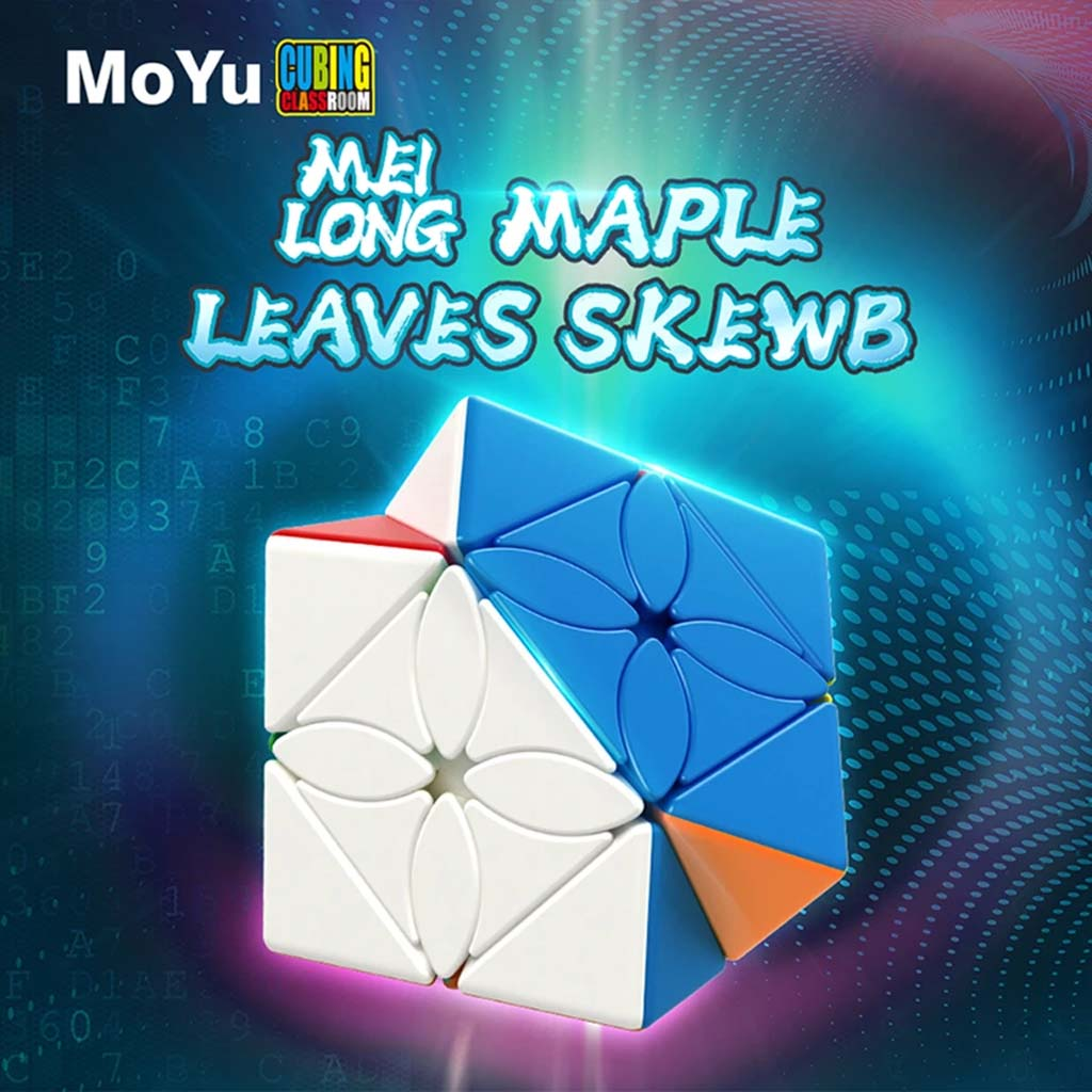 Maple Leaves Skewb - Cubewerkz Puzzle Store