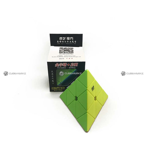 Qiming Pyraminx Stickerless - Cubewerkz Puzzle Store