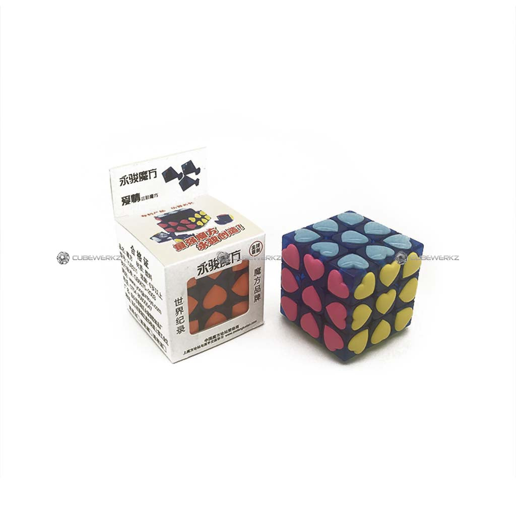 YJ 3x3 Heart Tiles - Cubewerkz Puzzle Store
