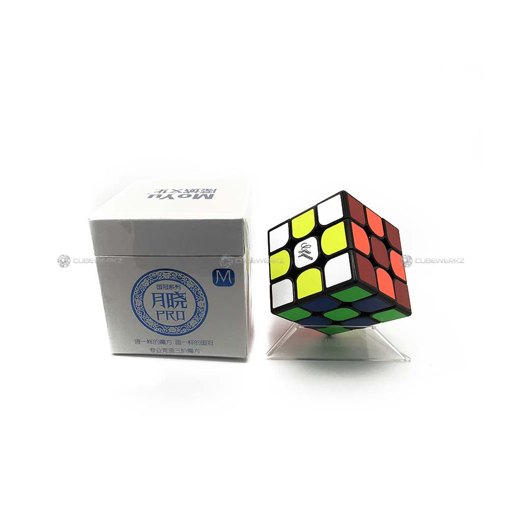 Yuexiao Pro Magnetic Black - Cubewerkz Puzzle Store