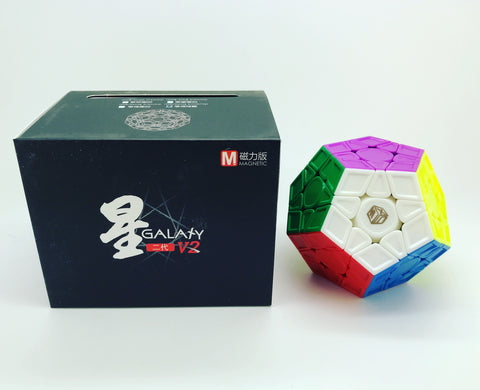 Galaxy Megaminx V2 Magnetic Sculptured - Cubewerkz Puzzle Store