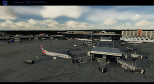 LVFR Hartford Bradley International Airport KBDL P3D