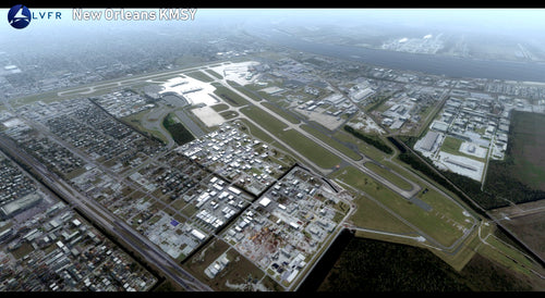 LatinVFR New Orleans Int'l Airport KMSY