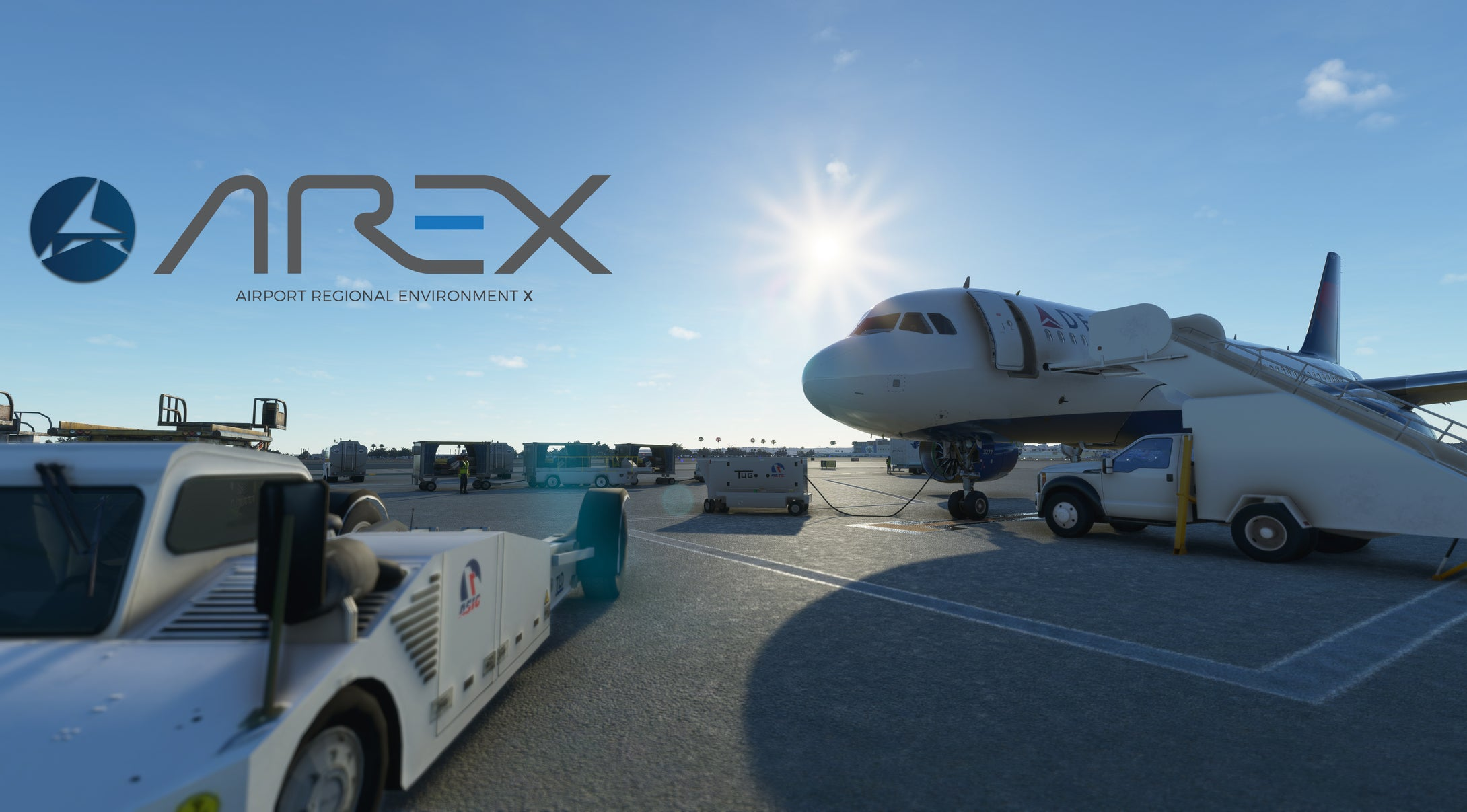 AREX: Airport Regional Environment X North America for MSFS