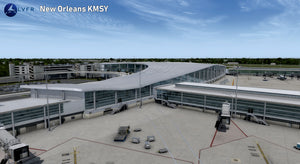 LatinVFR New Orleans Int'l Airport KMSY P3D