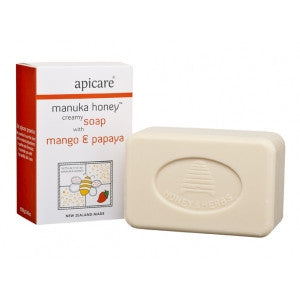 apicare manuka honey soap with mango & papaya