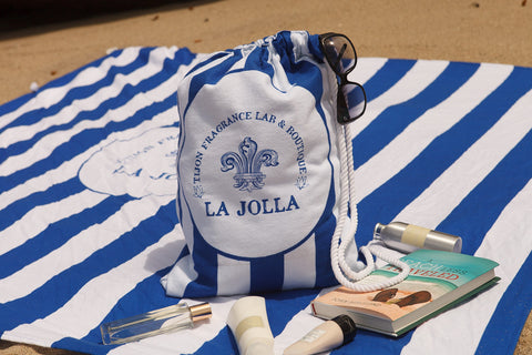 Tijon La Jolla Beach Blanket Tote Bag